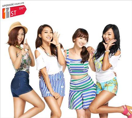 韓国ドラマ・韓流ドラマのWoWKorea 「SISTAR」、IUに続き「11番街」の広告モデルに