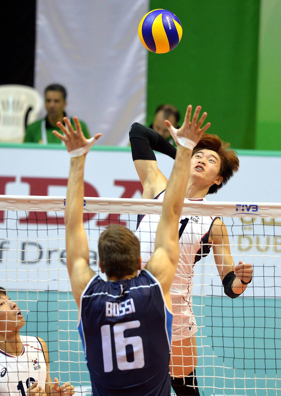 <バレーボール>イタリアに敗れたU-23男子韓国代表チーム、世界選手権4強進出ならず