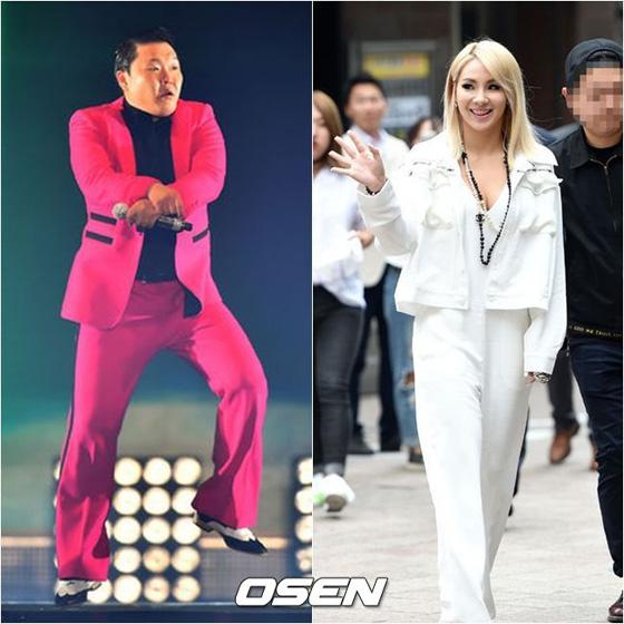 歌手PSY&「2NE1」CL、「2015 MA...