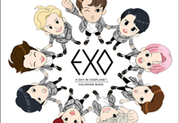 「EXO」キャラクターの塗り絵「EXO:A DAY IN EXOPLANET」出版へ