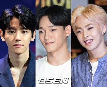 「EXO」BAEK HYUN&XIUMIN&CHEN、ドラマ「月の恋人」のメインテーマ ...