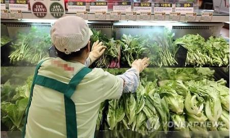 韓国消費者物価 7カ月ぶり高水準=猛暑で農畜水産物上昇