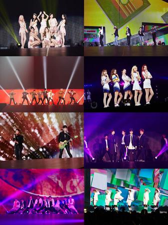 「少女時代」から「EXO」までSMパワー…大阪・京セラドームで9万人が熱狂