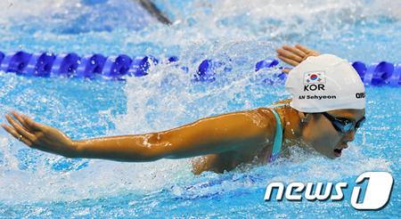 世界水泳>アン・セヒョン、女子...