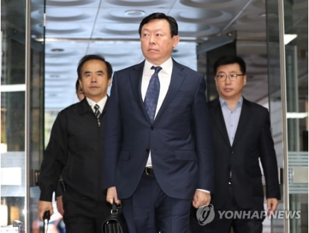 韓国新聞・経済-ロッテ会長に懲...
