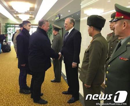 北朝鮮‐ロシアの国防部代表団、...