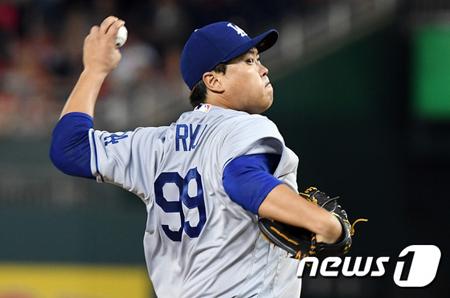 <MLB>リュ・ヒョンジン、3日のダイヤモンドバックス戦で登板へ