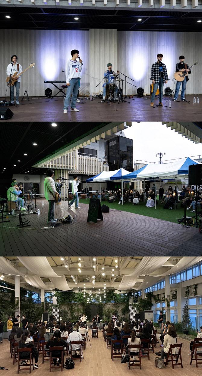 グループ「N.Flying」、カムバックを前にバスキング公演…新曲「Moonshot」の一部も公開