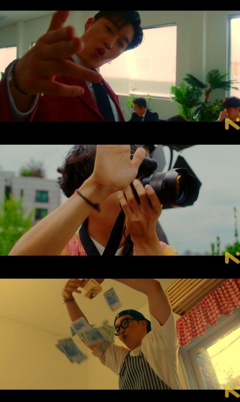 「BTS(防弾少年団)」V&パク・ソジュンら親友たちが総動員、Peakboyの新曲MVのティザー第2弾が公開(画像提供:wowkorea)