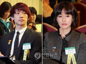 Rain(ピ)&キム・ジスに貯蓄賞 Rain(ピ)&キム・ジスに貯蓄賞│韓国俳優・女優│韓国ドラ