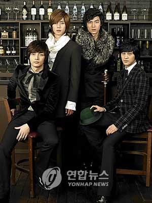 韓国版『花より男子』F4 日本進出準備完了  韓国版『花より男子』F4 日本進出準備完了 200