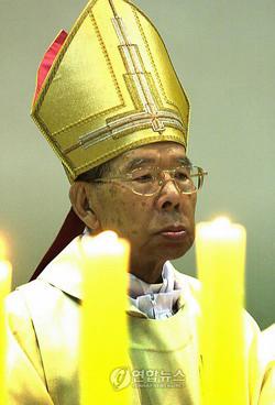 韓国カトリック界の主軸、金寿煥...