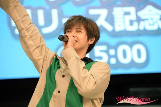 ニューシングル「会えるまで」リリースイベントを開催した「B1A4」