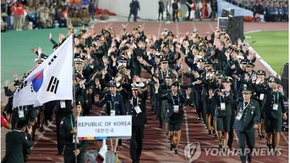 世界軍人体育大会 韓国で開幕=24競技で熱戦│韓国社会・文化 ...