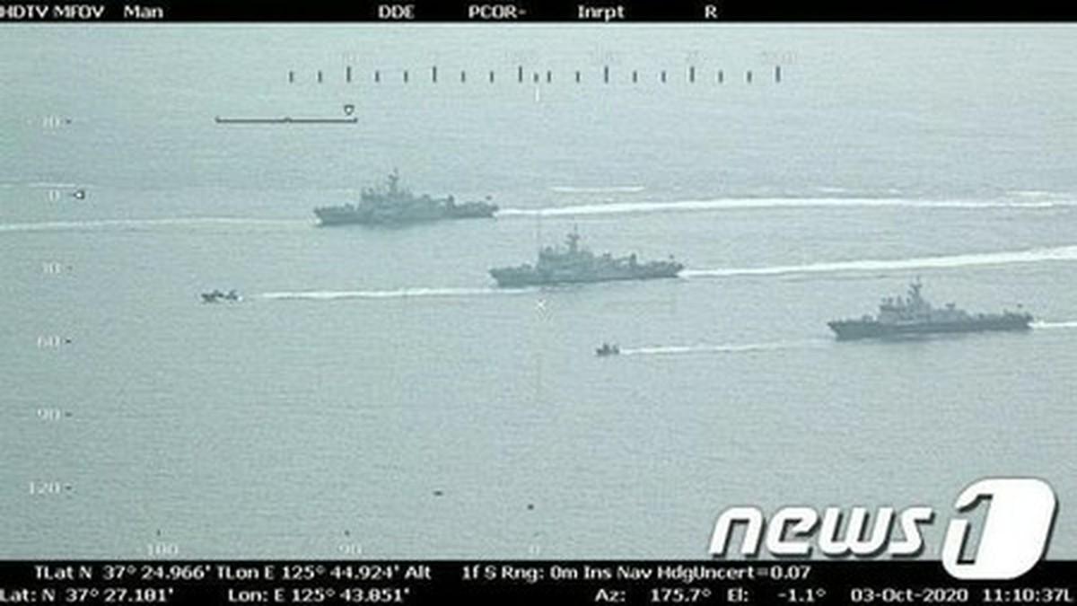 「北射殺」公務員の調査14日目…船舶34隻、航空機7機投入=韓国