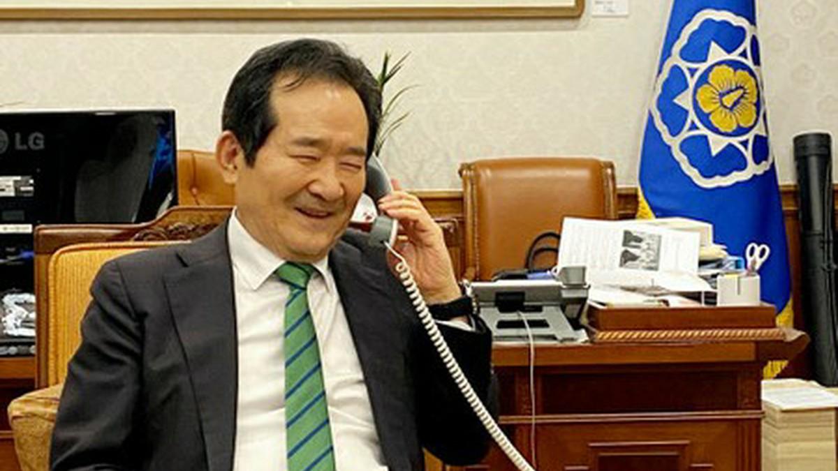 丁国務総理「政府を信頼してくれた船員たちに感謝」…抑留された船員たちはイランを出国=韓国