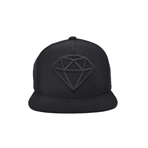 DIAMOND CAP No.1(BLACK×BLACK)の画像