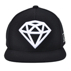 DIAMOND CAP No.2(BLACK×WHITE)の画像