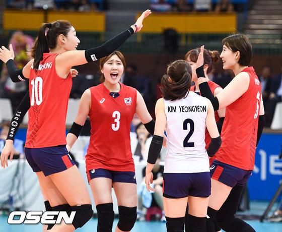 韓国新聞・スポーツ/芸術-<女子バレー>韓国代表、ニュージーランド ...