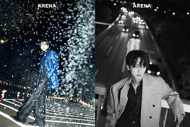 「PENTAGON」フイ、入隊を目前にメンバーや「Wanna One」の「Energetic」について語る=初のソログラビア
