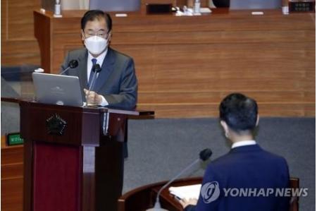 海洋放出 IAEA基準に従うなら反対せず=韓国外相