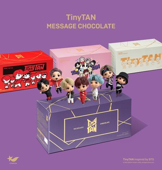 """""""「BTS(防弾少年団)」のキャラクター""""TinyTAN、チョコレート発売へ"""